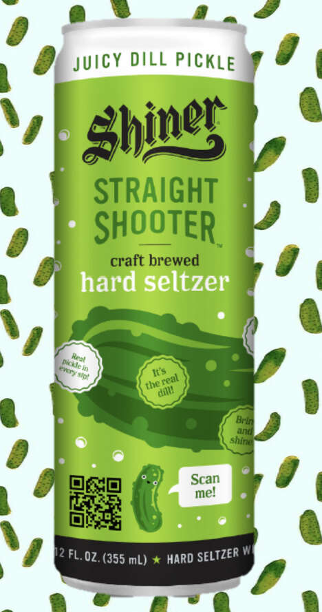 Pickle-Flavored Hard Seltzers