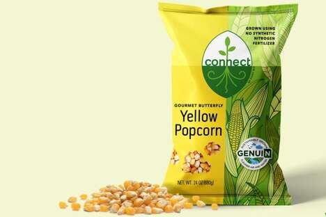 Climate-Positive Popcorn Snacks