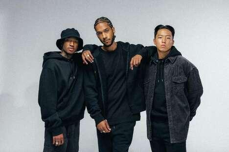Rapper-Backed Casualwear