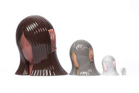Cyclical Life-Themed Russian Dolls