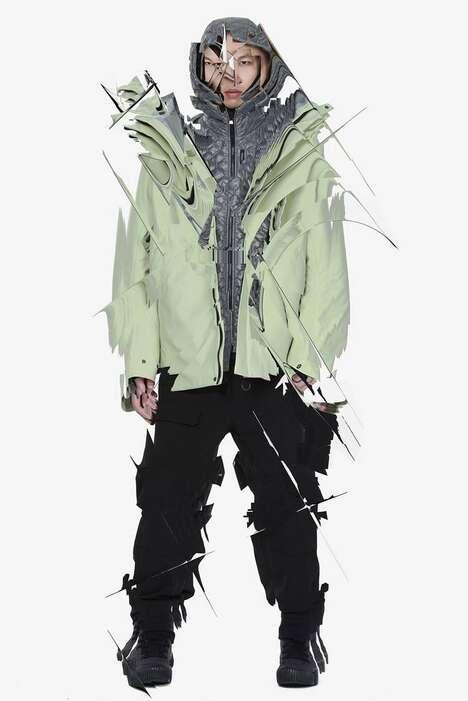 Cryogenics-Themed Fall Fashion