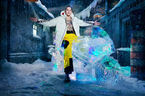 Star-Studded Winter Jacket Campaigns