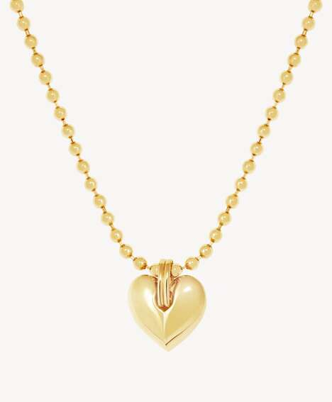 Female Empowering Gold Jewelry