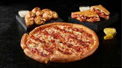 Savory Triple Bacon Pizzas