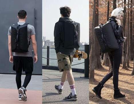 Multifunctional Anti-Slash Backpacks