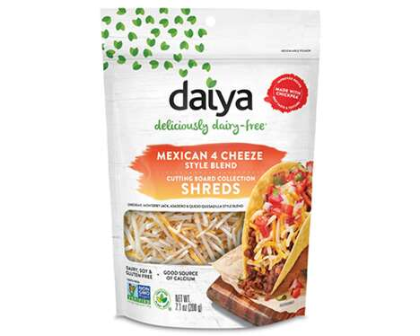Dairy-Free Mexican Cuisine Cheeses
