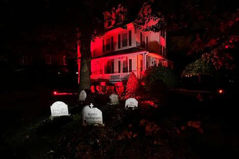 Raisin-Themed Haunted Houses