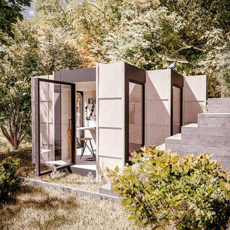 Robotically-Assembled Sustainable Homes