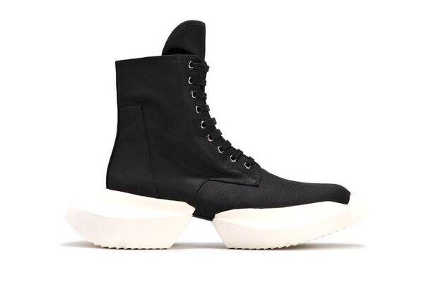 Avant-Garde Hi-Cut Sneakers