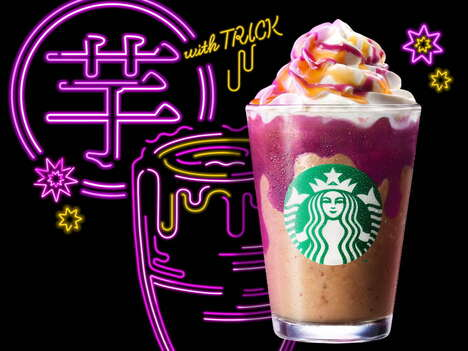 Popping Candy Frappuccinos
