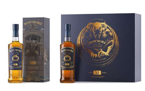 Myth-Inspired Scotch Whiskeys