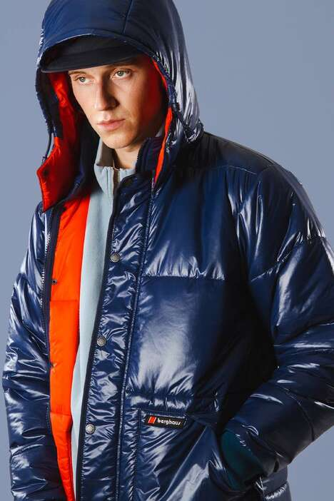 Revived Shiny Puffer Jackets