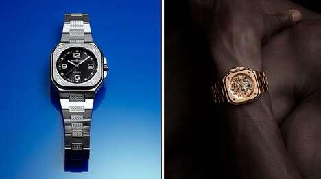 Luxury Jewelry-Clad Timepieces
