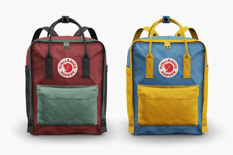 Personalization-Focused Backpacks