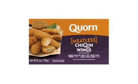 Fiber-Rich Meatless Chicken Wings