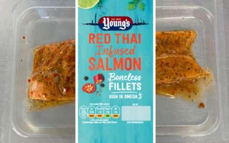 Thai Cuisine Salmon Dishes
