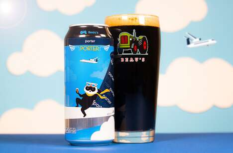 Airline-Backed Beer Launches