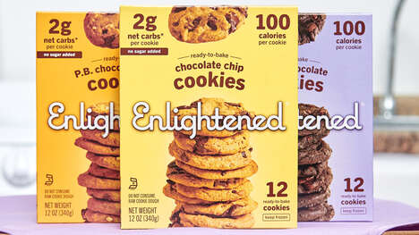 Ready-to-Bake Low-Calorie Cookies
