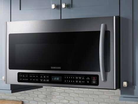 Multifunctional Range Hood Microwaves