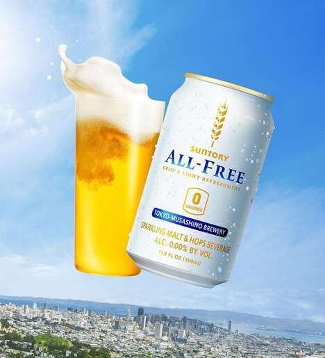 Alcohol-Free Zero Calorie Beers