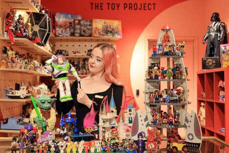 Pre-Loved Toy Pop Ups