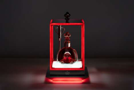 NFC-Enabled Cognac Decanters