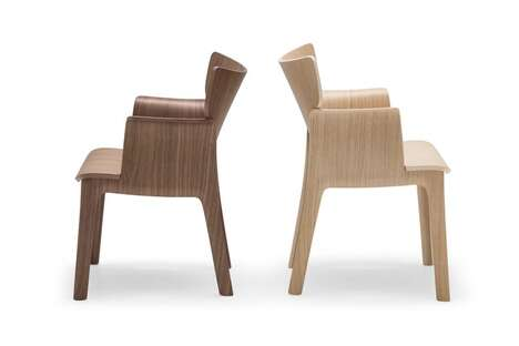 Sustainable Plywood Seating Collections
