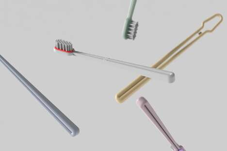 Modular Recycled Toothbrush Concepts