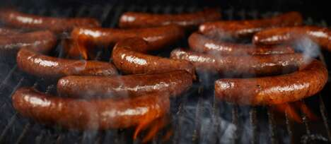 Cultivated Meat Sausages