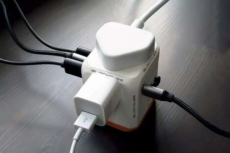 Dual-Outlet Travel Adapters