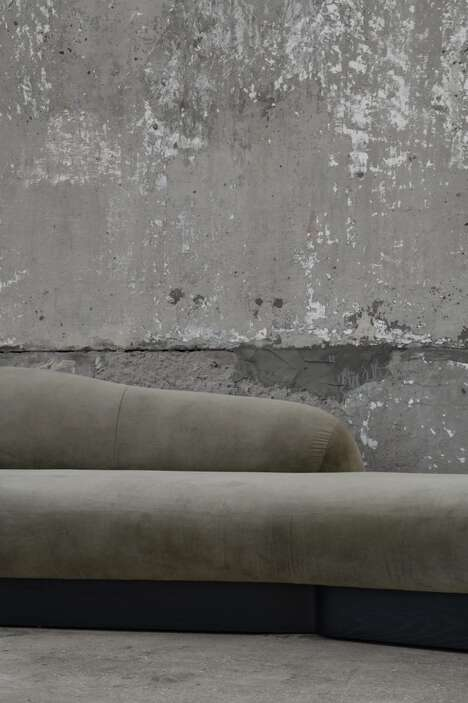 Bold Flowing Couch Designs