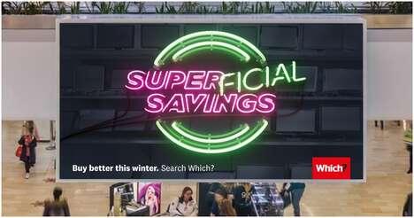 Subversive Eco-Conscious Shopping Ads