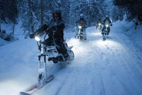 Emissions-Free Winter Exploration Vehicles