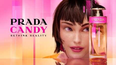 Virtual Avatar Perfume Campaigns