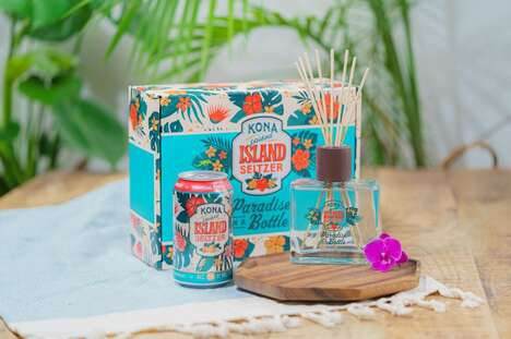 Seltzer-Branded Reed Diffusers