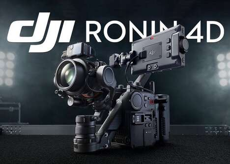 Modular 8K Video Cameras