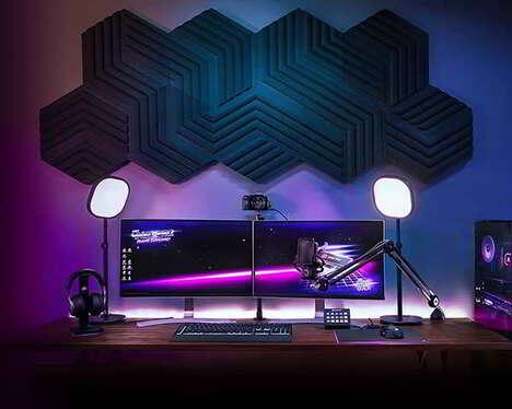 Artistic Acoustic Optimization Panels