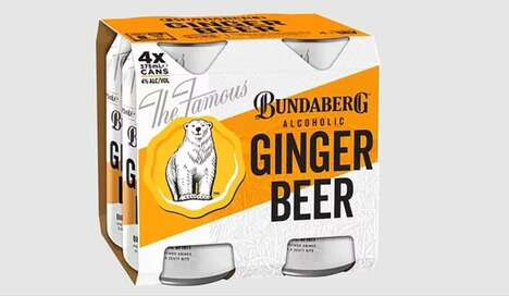 Alcohol-Infused Ginger Beers