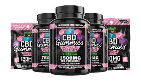 Functional Vegan-Friendly CBD Gummies