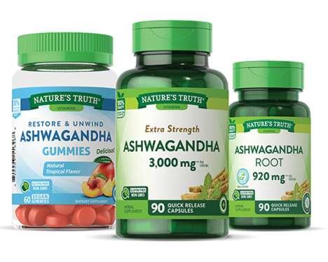 Easy-to-Take Ashwagandha Supplements