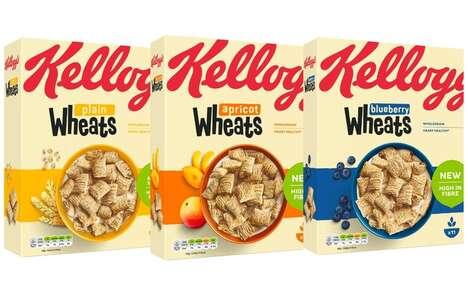 High-Fiber Low-Sugar Cereals