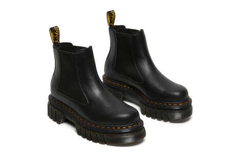 Two-Part Platform Boots