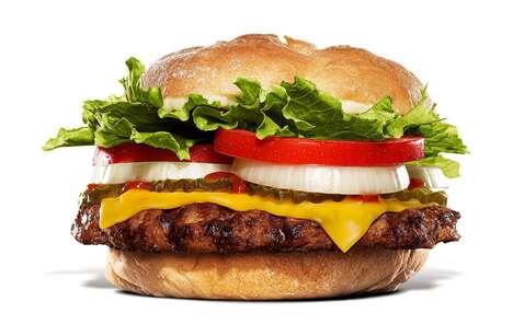 Butter-Soaked Bun QSR Burgers