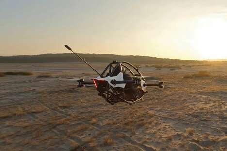 Single-Seater eVTOL Vehicles