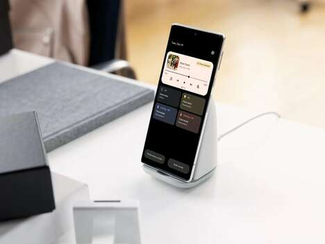 Self-Cooling Smartphone Stands