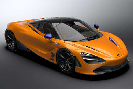 Formula 1-Inspired Supercars