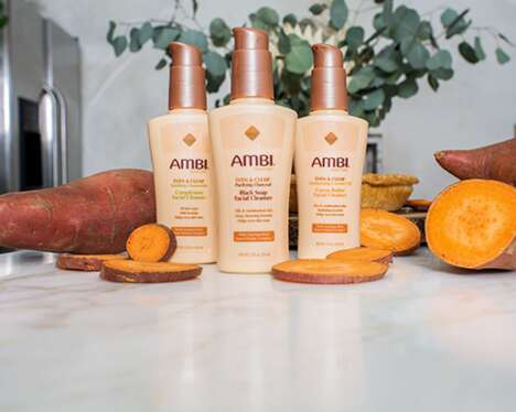 Sweet Potato Skincare Cleansers
