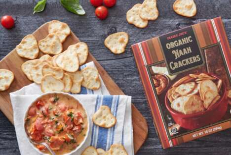 Crispy Organic Naan Crackers