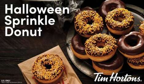 Festive Halloween Donuts