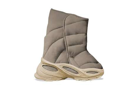 Chunky Padded Winter Footwear